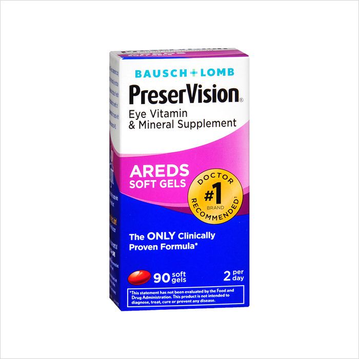 PreserVision AREDS Soft Gels